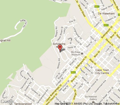 Map 24 on Upper Bloem in Bokaap  City Bowl  Cape Town  Western Cape  South Africa