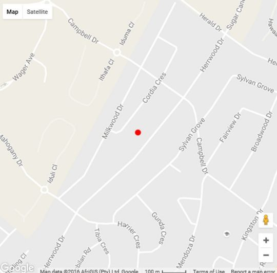 Map Gateway Apartment in Umhlanga Rocks  Umhlanga  Northern Suburbs (DBN)  Durban and Surrounds  South Africa