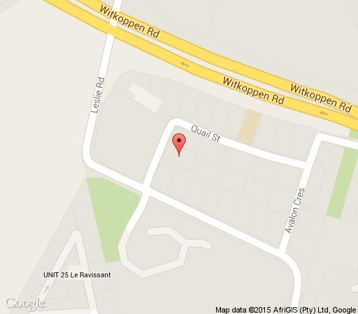 Map Absolute Guesthouse in Fourways  Sandton  Johannesburg  Gauteng  South Africa