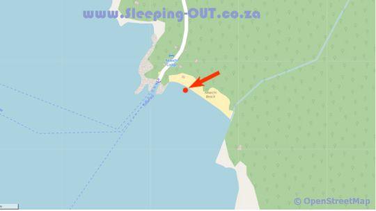 Map Nkwichi Lodge in Lake Niassa  Niassa  Mozambique