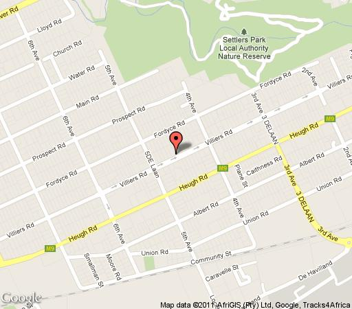Map Ninety9 on Villiers in Walmer  Port Elizabeth  Cacadu  Eastern Cape  South Africa