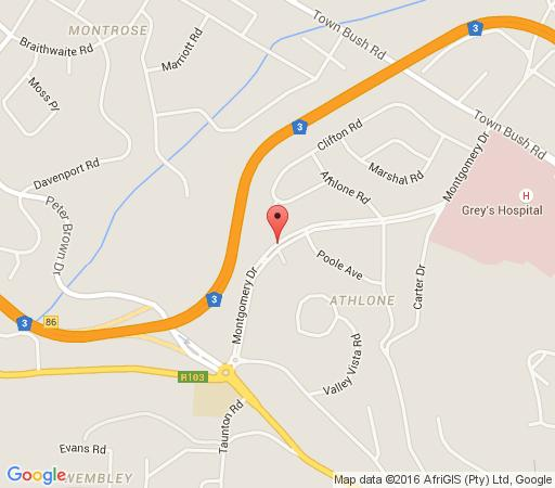 Map A Garden Suite in Athlone (PMB)  Pietermaritzburg  Midlands  KwaZulu Natal  South Africa