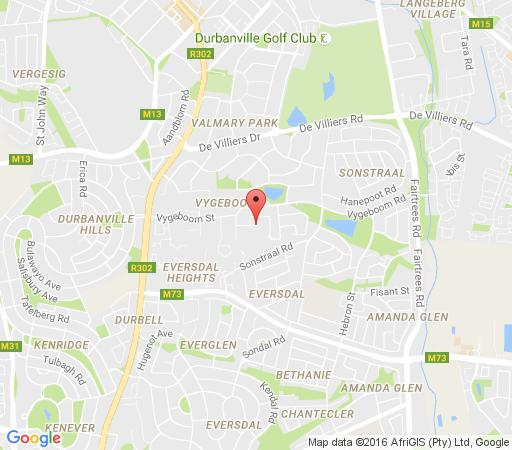 Map Tranquille Manor in Durbanville  Northern Suburbs (CPT)  Cape Town  Western Cape  South Africa
