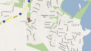 Map La Boheme B&B in Plettenberg Bay  Garden Route  Western Cape  South Africa