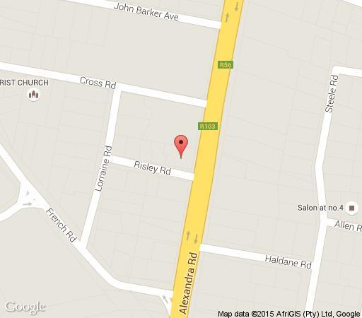 Map Alexandra B&B in Pietermaritzburg Central  Pietermaritzburg  Midlands  KwaZulu Natal  South Africa