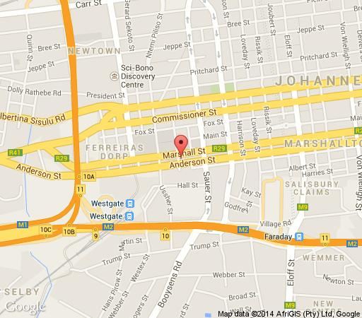 Map Mapungubwe Hotel Apartments in Houghton Estate  Johannesburg East  Johannesburg  Gauteng  South Africa