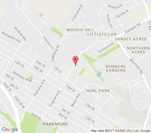 Map Le Petit Fillan Guest House  in Sandton Central  Sandton  Johannesburg  Gauteng  South Africa