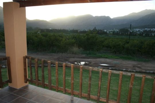 Map Le Domaine Farm Cottages in Montagu  Breede River Valley  Western Cape  South Africa
