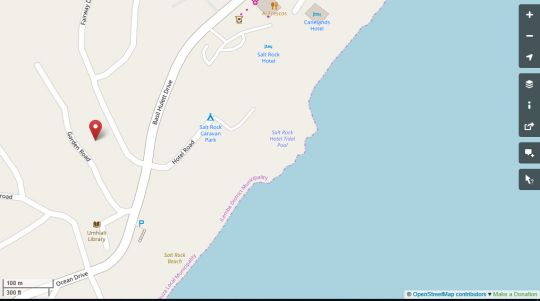 Map The Studio Suite in Ballito  North Coast (KZN)  KwaZulu Natal  South Africa