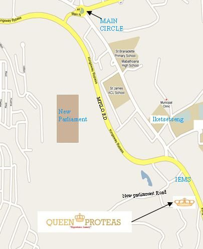 Map City Stay in Maseru East  Maseru (City)  Maseru (District)  Lesotho