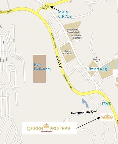 City Stay Maseru East Lesotho - maseru map