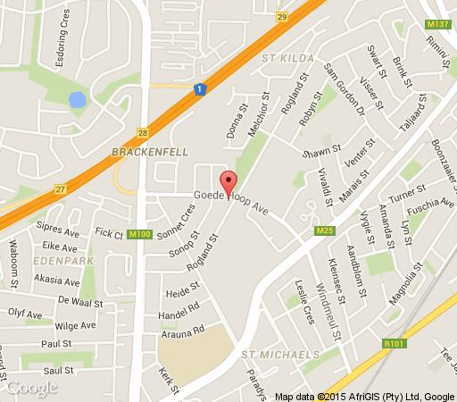 Map Rest for Guest in Brackenfell  Northern Suburbs (CPT)  Cape Town  Western Cape  South Africa
