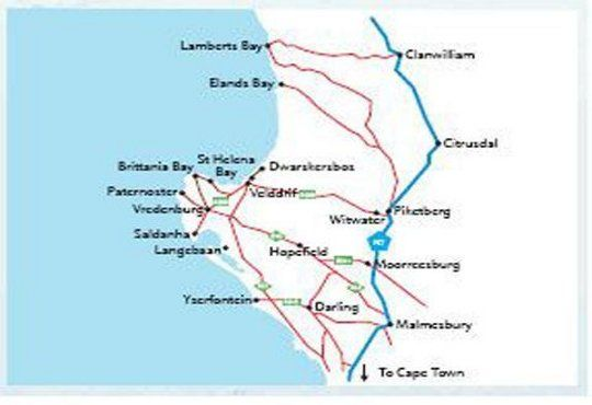 Map 21 on Walter in St Helena Bay  West Coast (WC)  Western Cape  South Africa