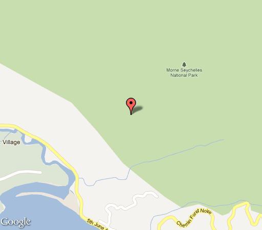 Map Eden\'s Holiday Villas in Seychelles