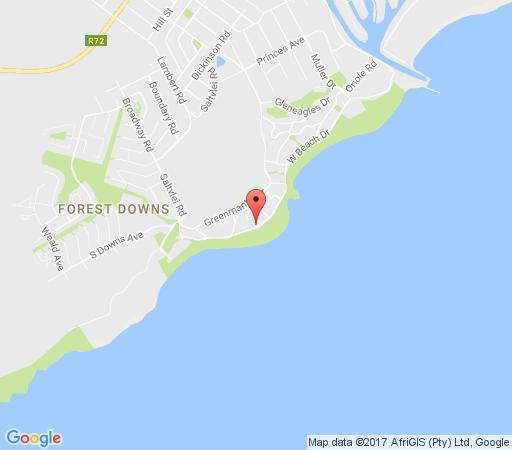 Map The Beach House in Port Alfred  Cacadu (Sarah Baartman)  Eastern Cape  South Africa