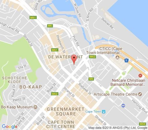 Map Dockside503 in De Waterkant  City Bowl  Cape Town  Western Cape  South Africa