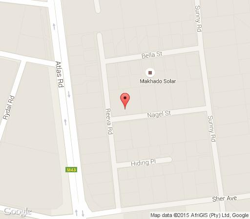 Map Len\'s Bed & Breakfast in Benoni  Ekurhuleni (East Rand)  Gauteng  Afrique du Sud