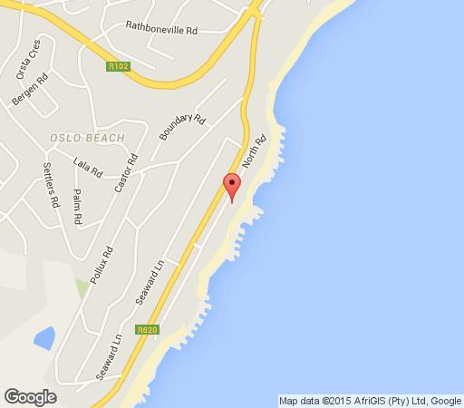 Map My Den Beachfront B&B with SC in Port Shepstone  South Coast (KZN)  KwaZulu Natal  South Africa