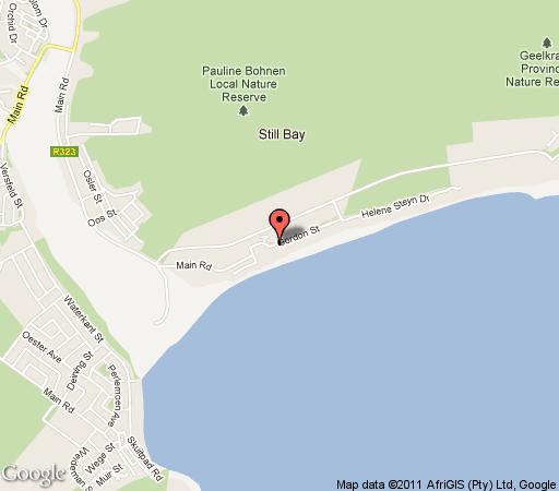 Map Lappiesbaai 17 in Stilbaai  Garden Route  Western Cape  South Africa