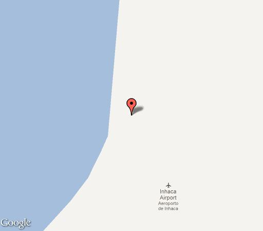 Map Manico Camp in Inhaca Island  Maputo  Mozambique