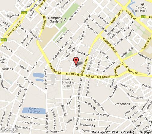 Map 6 on Scott  in Gardens  City Bowl  Kapstadt  Western Cape  Südafrika