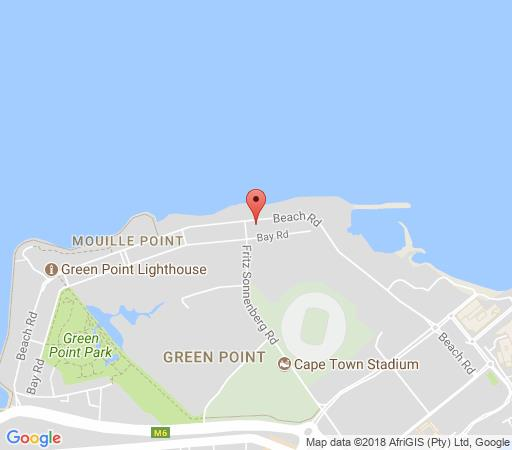 Map Mouille Grange Beachfront  in Mouille Point  Atlantic Seaboard  Cape Town  Western Cape  South Africa