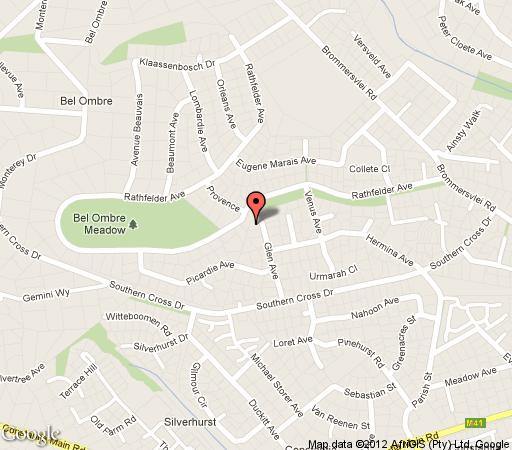 Map Kaapse Draai in Constantia (CPT)  Southern Suburbs (CPT)  Cape Town  Western Cape  South Africa
