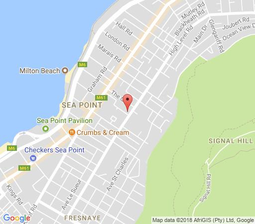 Map Glenlodge  in Sea Point  Atlantic Seaboard  Cape Town  Western Cape  South Africa