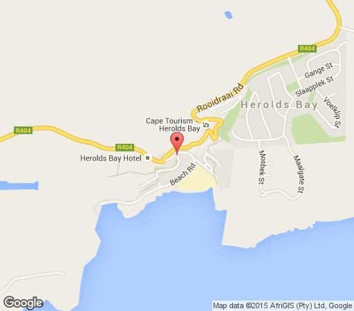 Map Heroldsbay Unit 406 in Herold's Bay  Garden Route  Western Cape  South Africa