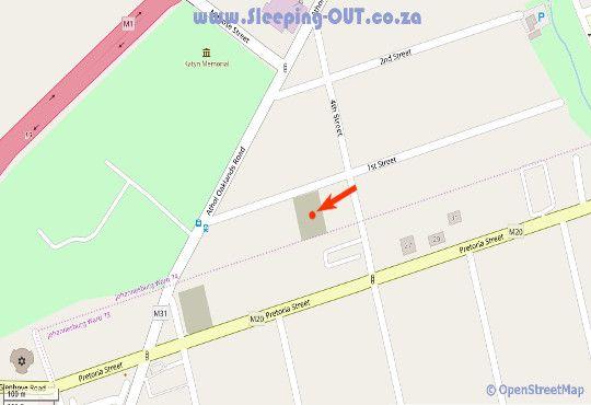 Map Abbotsford House  in Abbotsford (JHB)  Sandton  Johannesburg  Gauteng  South Africa