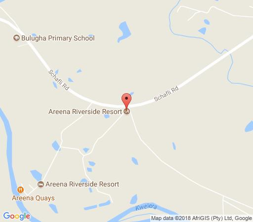 Map Areena Riverside Resort  in Kwelera  Amatole  Eastern Cape  South Africa