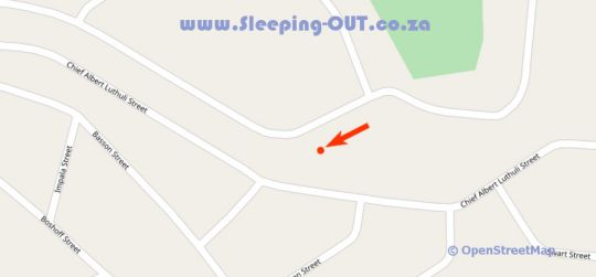 Map Waterberg INN in Modimolle  Nylstroom  Bushveld  Limpopo  South Africa