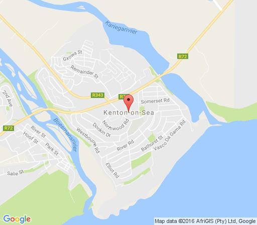 Map Hopewell Private Game Lodge in Addo  Cacadu (Sarah Baartman)  Eastern Cape  South Africa