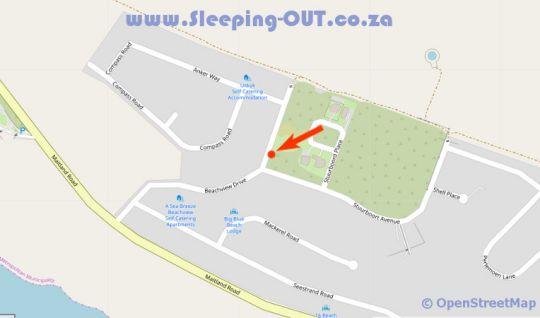 Map 8 Abalone Place in Beachview  Port Elizabeth  Cacadu (Sarah Baartman)  Eastern Cape  South Africa
