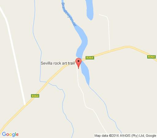 Map Traveller\'s Rest in Clanwilliam  West Coast (WC)  Western Cape  South Africa