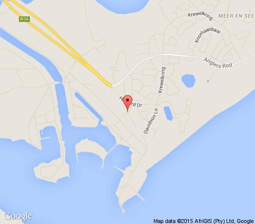 Map The Bayshore Inn  in Richards Bay  Zululand  KwaZulu Natal  South Africa
