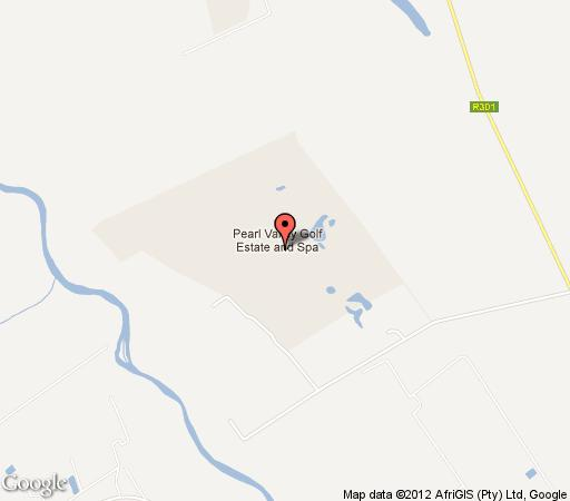 Map Pearl Villa in Paarl  Cape Winelands  Western Cape  South Africa