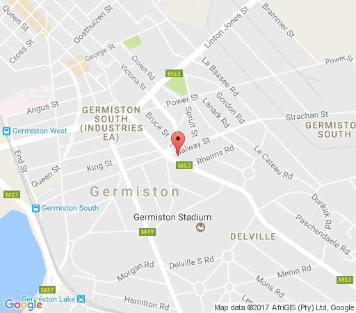 Map Comfy Corner in Germiston  Ekurhuleni (East Rand)  Gauteng  South Africa