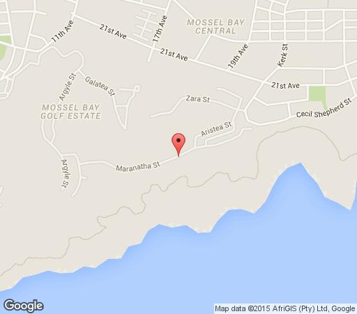 Map Golf&Stay in Mossel Bay  Garden Route  Western Cape  South Africa