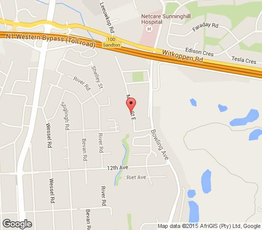 Map Five A Morris in Woodmead  Sandton  Johannesburg  Gauteng  South Africa