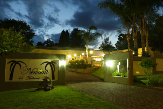 Map Newbali Bed and Breakfast in Newcastle  Battlefields  KwaZulu Natal  South Africa