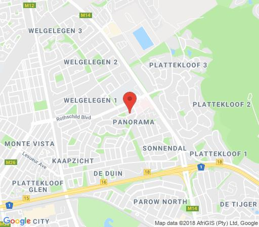 Map Die Peperboom in Panorama (CPT)  Northern Suburbs (CPT)  Cape Town  Western Cape  South Africa