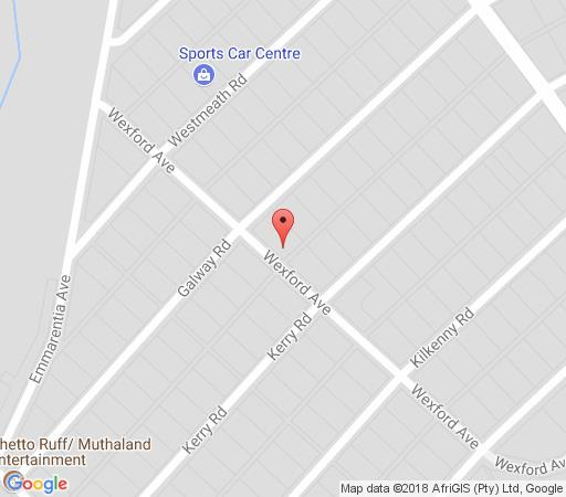 Map Remote Corner in Parkview  Northcliff/Rosebank  Johannesburg  Gauteng  South Africa