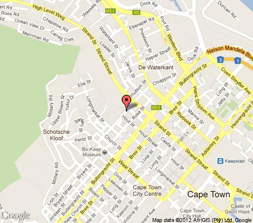 Map Rockwell 319 in De Waterkant  City Bowl  Cape Town  Western Cape  South Africa
