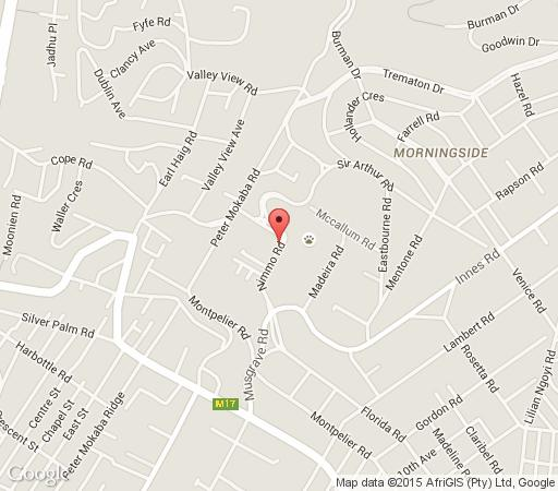 Map Albion Manor in Morningside (DBN)  Durban  Durban and Surrounds  KwaZulu Natal  South Africa