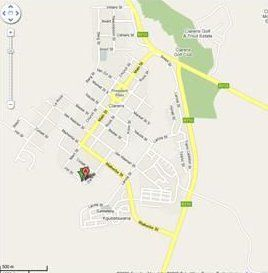 Map Hilltops in Clarens  Thabo Mofutsanyana  Free State  South Africa