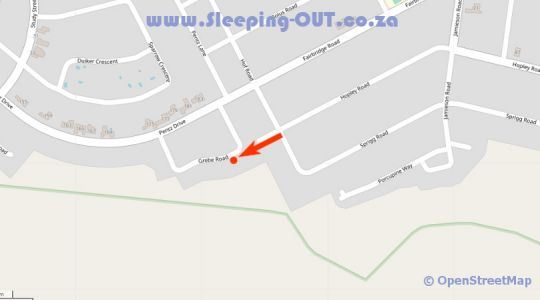 Map Casa Mia Guesthouse in Table View  Blaauwberg  Cape Town  Western Cape  South Africa