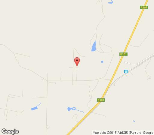 Map Dinkelacker Farmstead in Bela Bela  Bushveld  Limpopo  South Africa