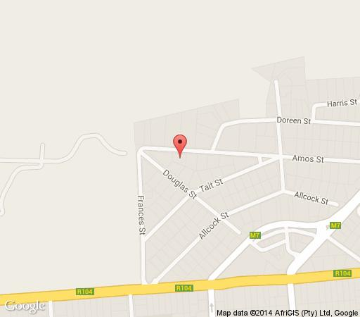 Map Goodey\'s Guesthouse in Colbyn  Pretoria Central  Pretoria / Tshwane  Gauteng  South Africa