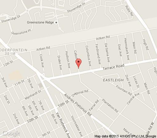 Map African Executive Lodge in Edenvale  Ekurhuleni (East Rand)  Gauteng  South Africa